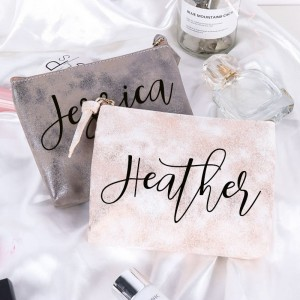 Personalized PU Makeup Bag