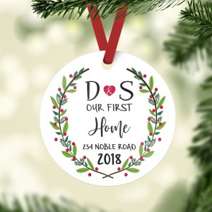 2018 Mr&Mrs First Christmas Ornament