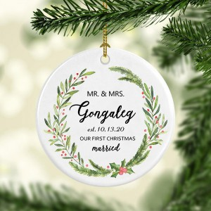 Newlywed Gift Ornament