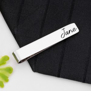 Personalized Multiple Colors Metal Tie Clip