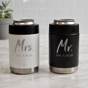 Mr and Mrs. Husband and Wife Tumblers Set