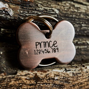 Puppy Bone Dog Tag