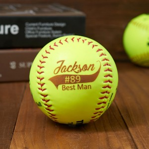 Personalized Engraved Softball