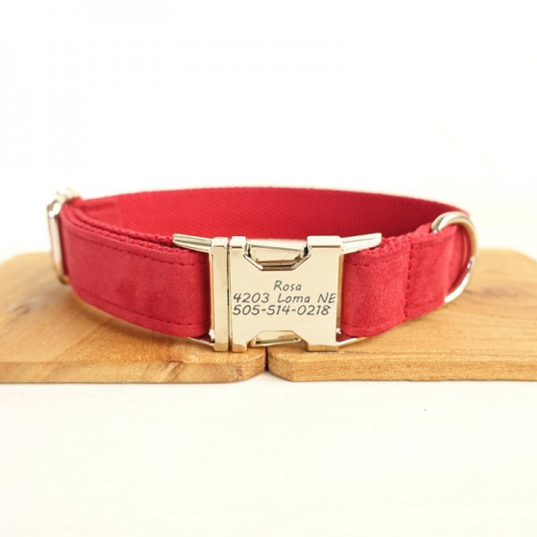 Red Bride Dog Collar
