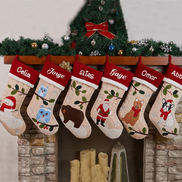 2018 Personalized Christmas Stocking