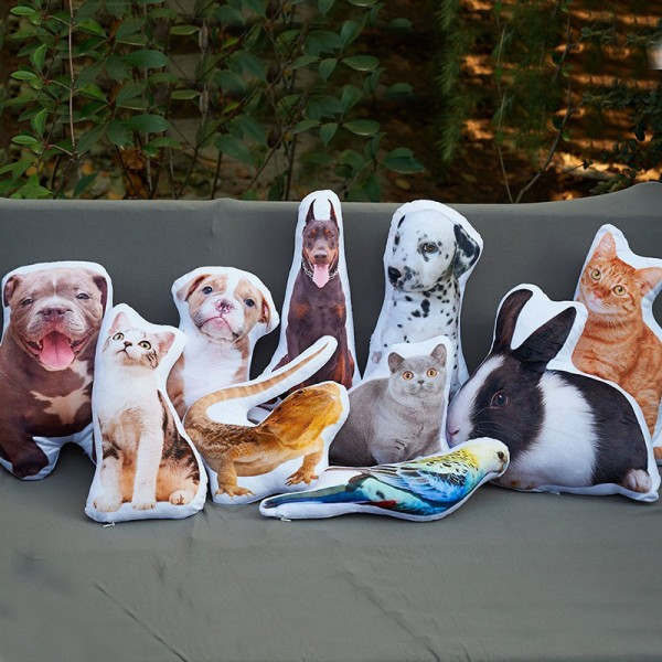 Custom Shaped Pet Pillow