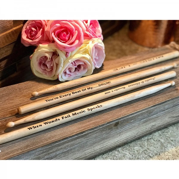 Personalized Drum Sticks