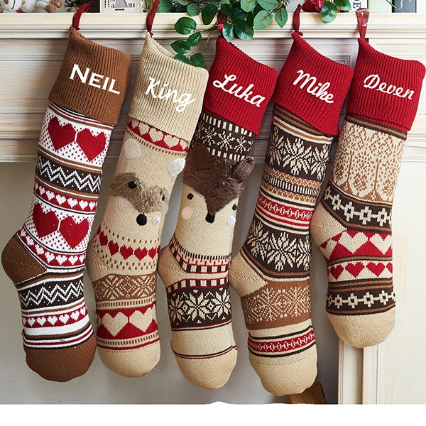 Classic Fair Isle Stocking Collection