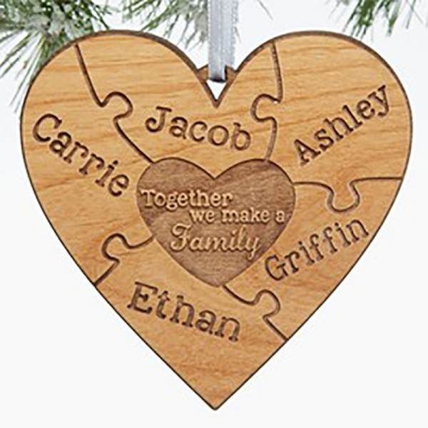 Family Heart ornament