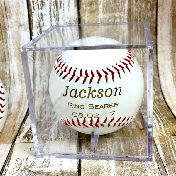 Personalized Laser Engraved Baseball