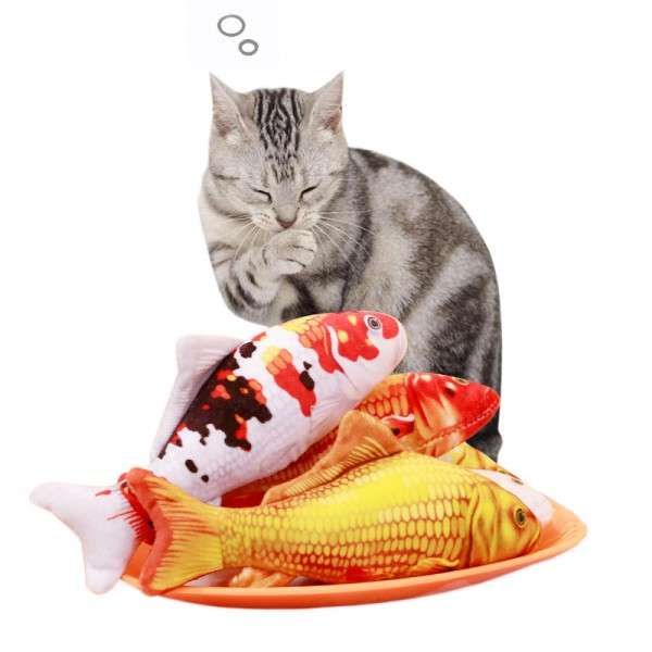 Japanese Koi Carp Fish Toy For Cats