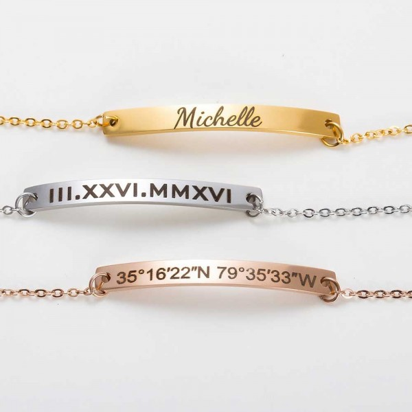 Bracelet Custom Handwriting Jewelry
