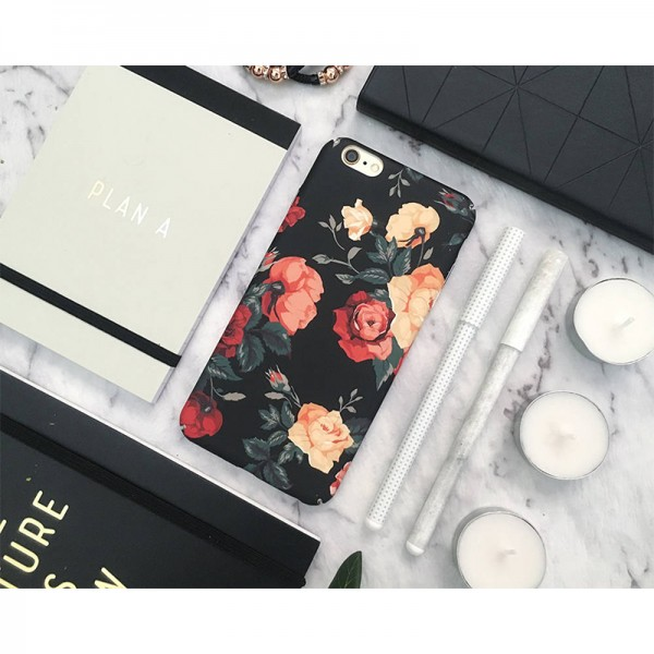 Roses Flowers iPhone Case