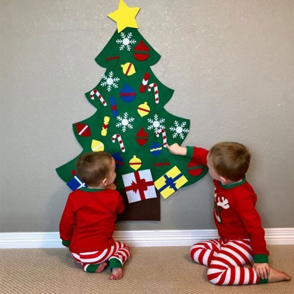 Kids Felt Christmas Tree Kit