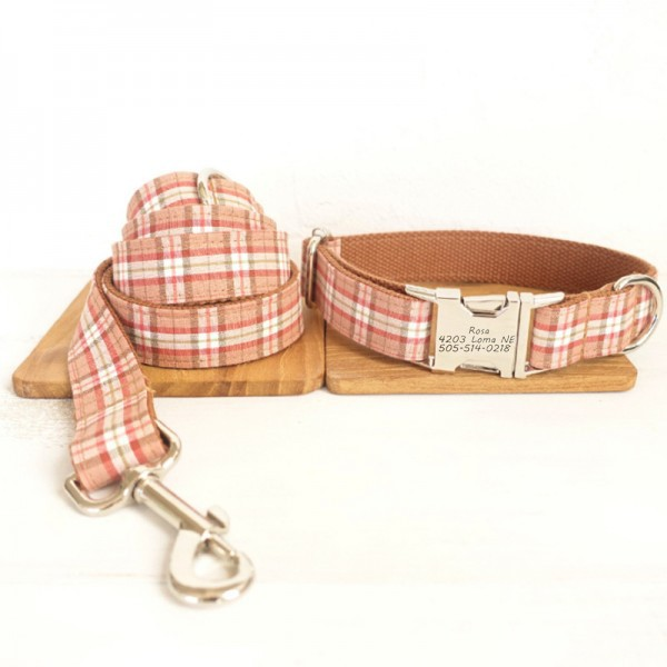 Little Naughty Dog Collar Leash Set