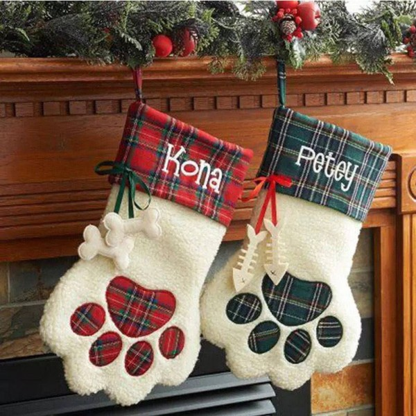 Pet Christmas stocking