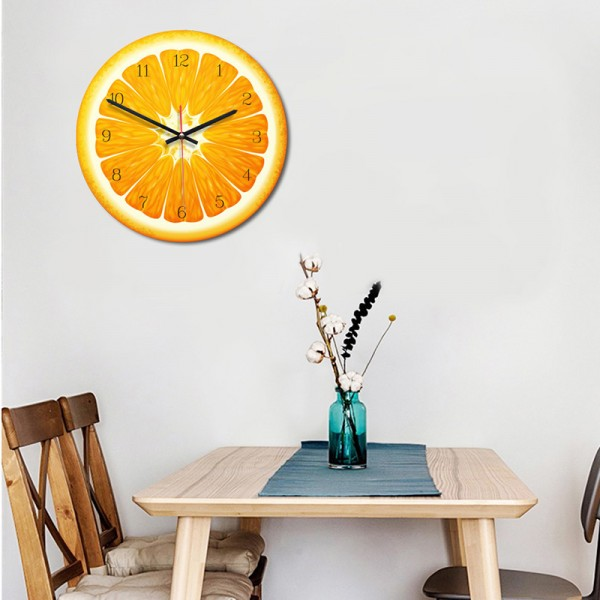 Fruit Wall Clock