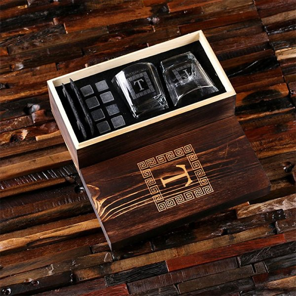 Whiskey Personalized Gift Set