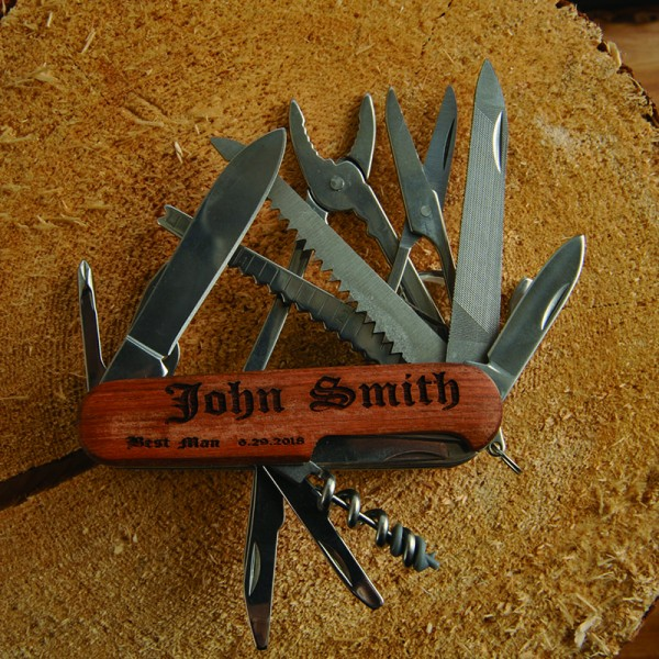 Personalized Multi Tool Pocket Knife