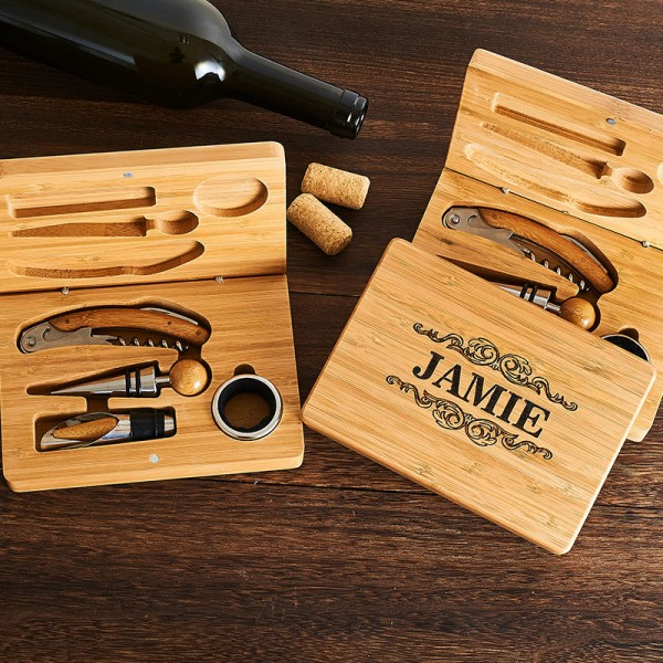 Wine Tool Accessories Gift Set 4pc