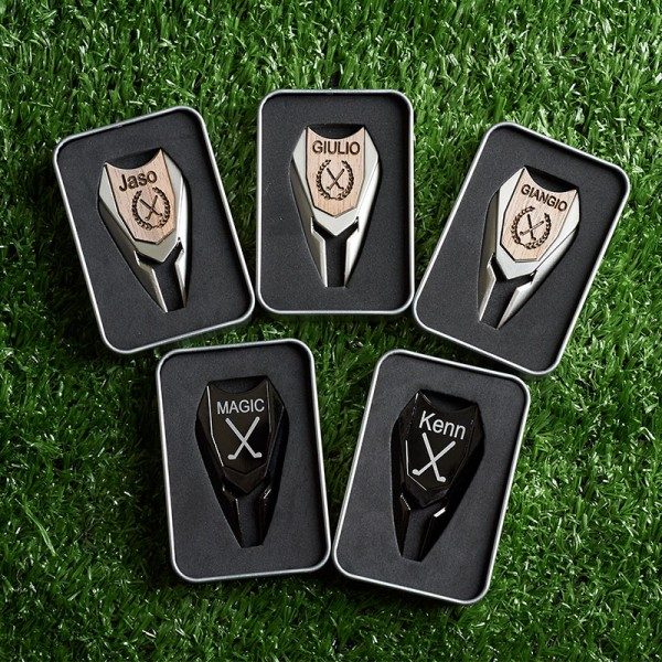 Personalized Golf Ball Marker Divot Tool