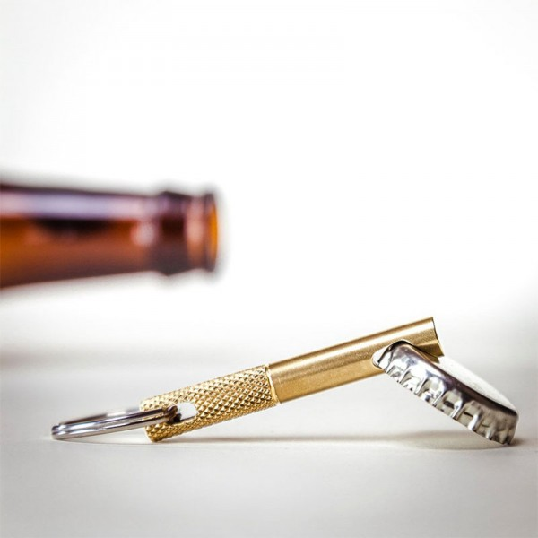 Keychain Bottle Opener(Gold)