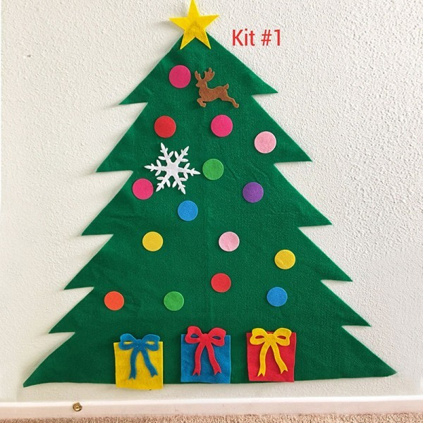 Seamed Felt Christmas Tree Kit
