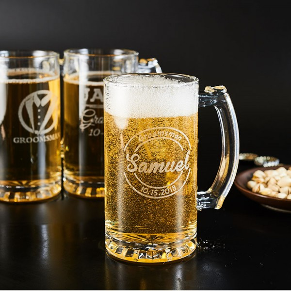 Personalized Party Beer Mug