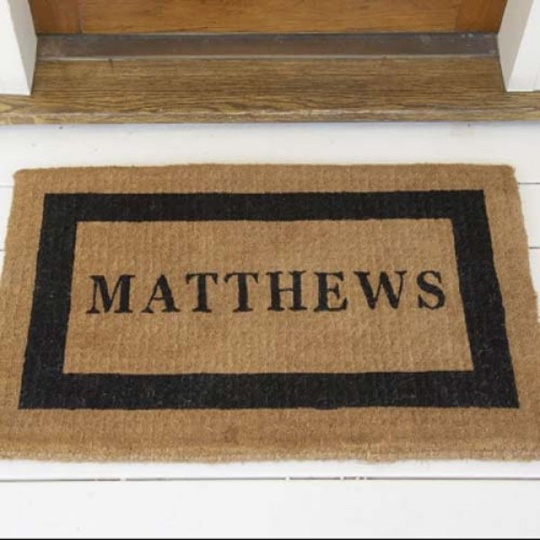 Personalized Outside Door Mats