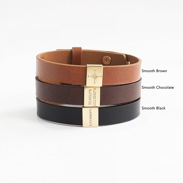Handcrafted Leather Bracelet For Men