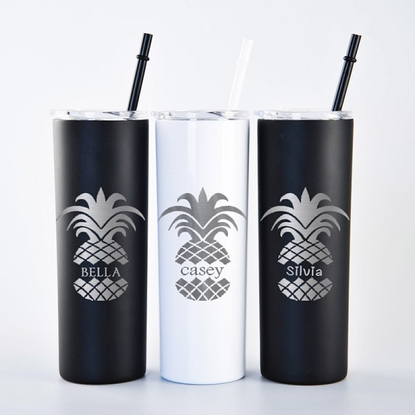 Bridesmaid Gift Stainless Steel Tumbler