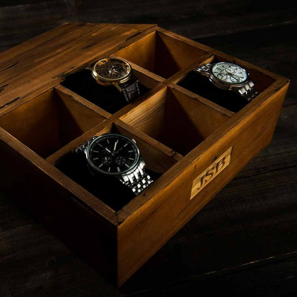 Wooden Watch Box For Men