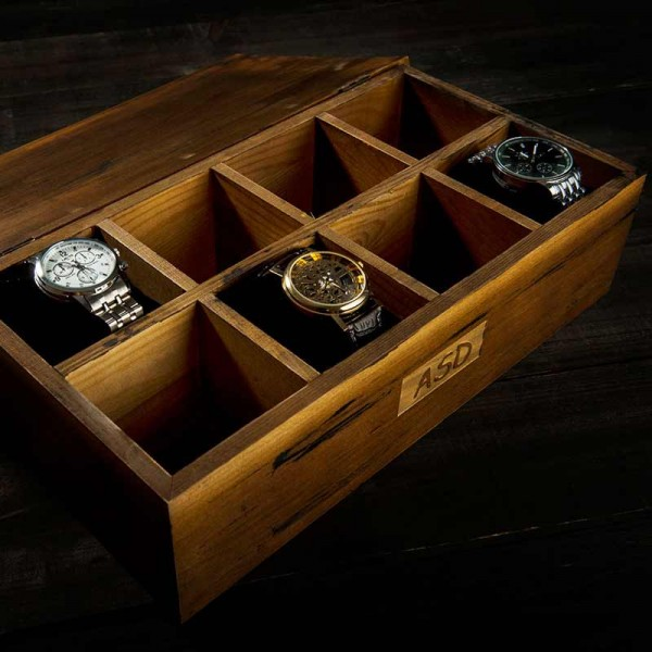 Wood Watch Box For Women