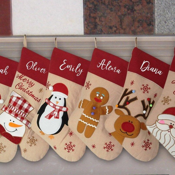 Christmas Family Stocking