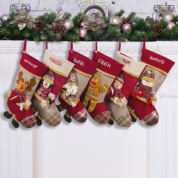 Personalized family stockings