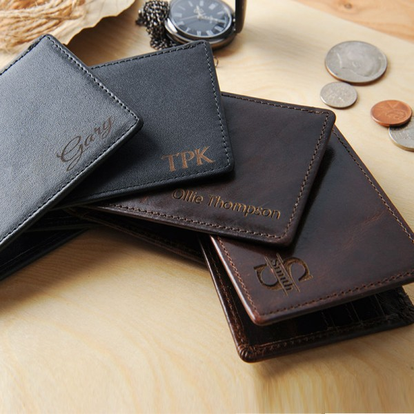 Personalized Engraved Wallet