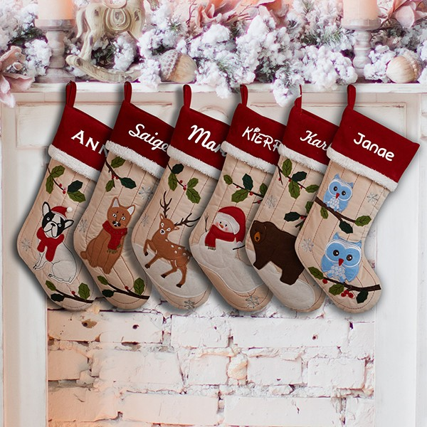 Personalized Family Christmas Stocking Personalizedcart Com