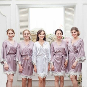 Custom Embroidery Bridesmaid Robe