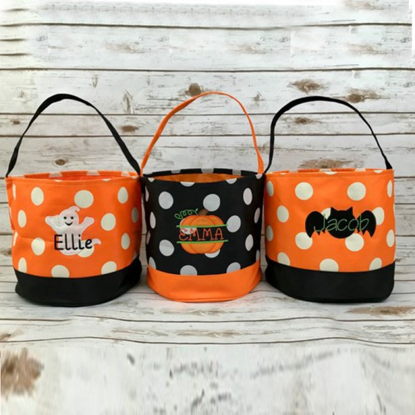 Personalized Trick or TreatBucket