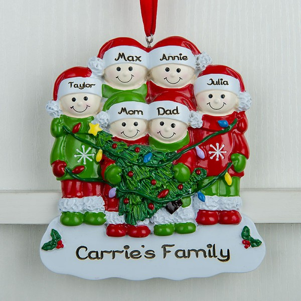 Personalized Christmas Ornament for Family