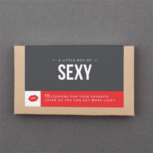 Sexy Coupons Stocking Stuffer