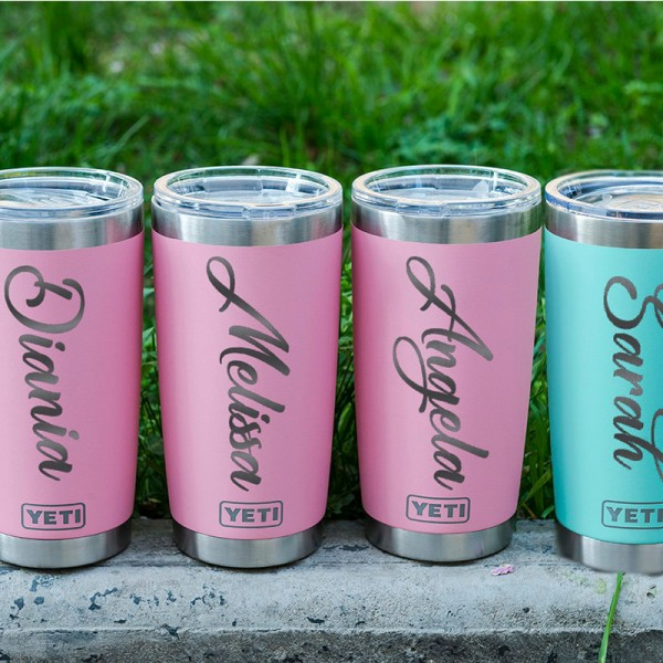 Personalized 20oz Yeti Tumbler