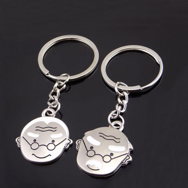 When We Are Old Key Chain