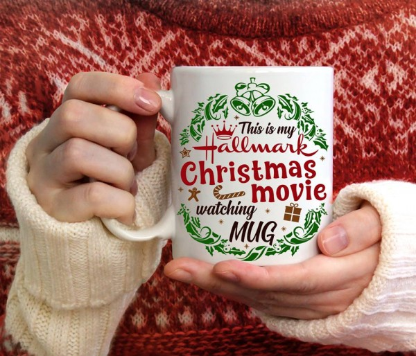 Personalized Hallmark Christmas Mug