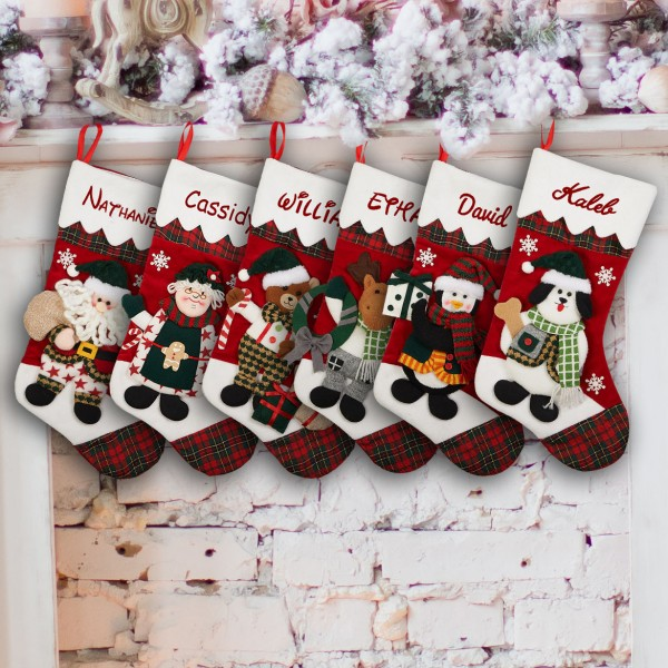 7dd819d00b1 Family Christmas Stocking