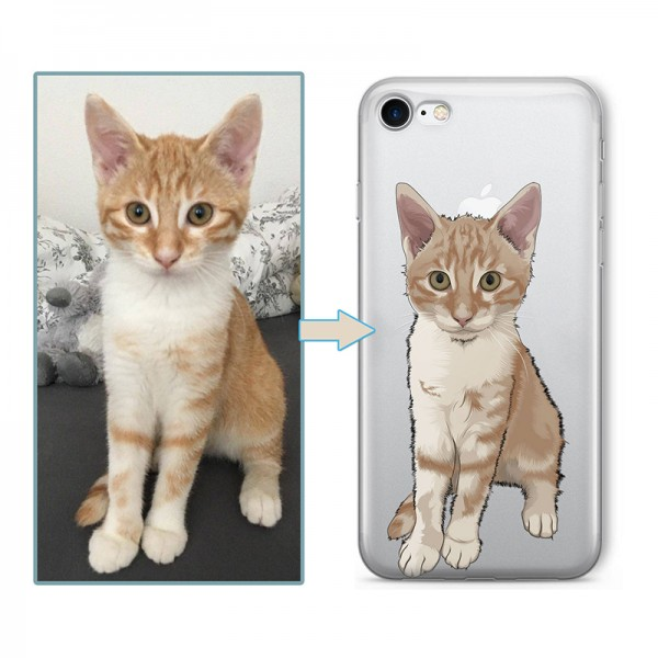Custom illustrated Pet iPhone Case