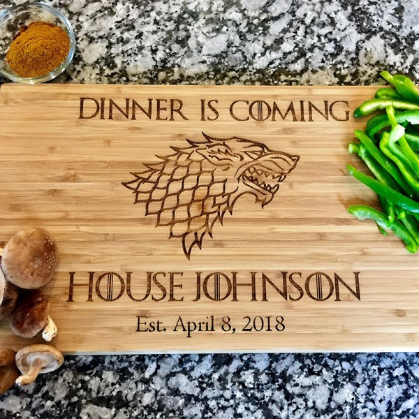 Custom Engraved Cutting Board