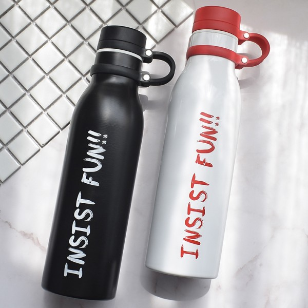 2018 Personalized Stainless steel sports bottle