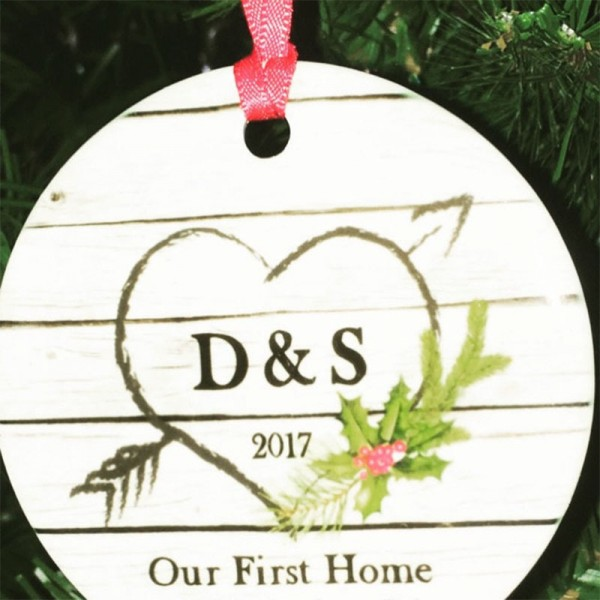 Our First Apartment Christmas Ornament