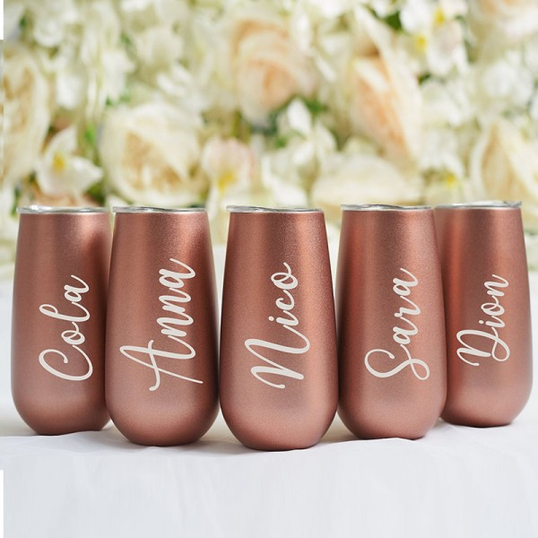 Personalized Swig Champagne Flutes
